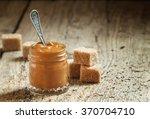 Sweet Liquid Caramel In A Small ...