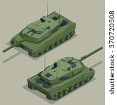 military armored german tank....   Shutterstock .eps vector #370720508