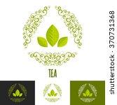 green tea logo branding concept.... | Shutterstock .eps vector #370731368