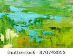 hand drawn oil painting....   Shutterstock . vector #370743053