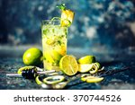 refreshment alcoholic cocktail...   Shutterstock . vector #370744526