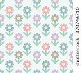 abstract seamless flower... | Shutterstock .eps vector #370746710