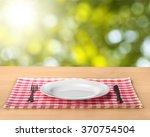 plate. | Shutterstock . vector #370754504