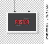 illustration of vector poster... | Shutterstock .eps vector #370756430