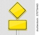 illustration of vector road... | Shutterstock .eps vector #370756463