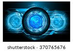 dark blue light abstract... | Shutterstock . vector #370765676