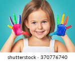 child. | Shutterstock . vector #370776740