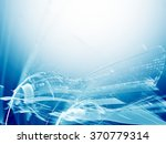 digital art abstract background.... | Shutterstock . vector #370779314