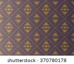vector vintage border frame... | Shutterstock .eps vector #370780178