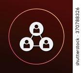 social link icon | Shutterstock .eps vector #370788326