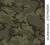 Army Green Camouflage Seamless...