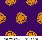 decorative seamless pattern | Shutterstock .eps vector #370825670