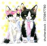 Cute Cat T Shirt Graphics ...