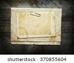 vintage background with old... | Shutterstock . vector #370855604