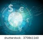 finance technology  fintech ...   Shutterstock .eps vector #370861160
