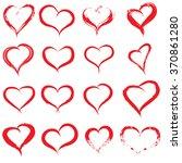 vector concept conceptual... | Shutterstock .eps vector #370861280