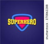 super hero power full... | Shutterstock .eps vector #370862288