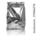 foil package bag isolated on... | Shutterstock . vector #370866578