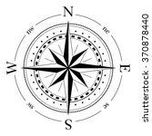 compass navigation dial  ... | Shutterstock .eps vector #370878440