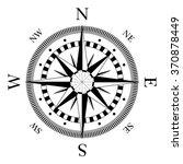 compass navigation dial  ... | Shutterstock .eps vector #370878449