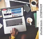 internship skills temporary... | Shutterstock . vector #370894439