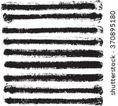 hand drawn black stripes.... | Shutterstock .eps vector #370895180