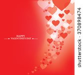 love valentine background with... | Shutterstock .eps vector #370898474