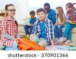 cute preschoolers | Shutterstock . vector #370901366