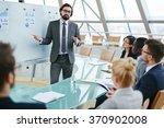 elegant teacher | Shutterstock . vector #370902008