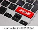 black keyboard with upgrade... | Shutterstock . vector #370902260