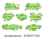 hand drawn healthy food... | Shutterstock .eps vector #370927754