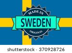 made in sweden label on country ...   Shutterstock .eps vector #370928726