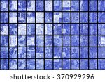 bright abstract mosaic blue... | Shutterstock . vector #370929296