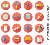 set of construction icons in... | Shutterstock .eps vector #370937804