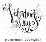 grunge textured handwritten... | Shutterstock . vector #370942934