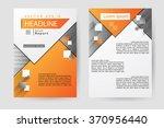 abstract vector modern flyers... | Shutterstock .eps vector #370956440