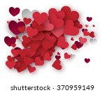 valentine s day hearts | Shutterstock .eps vector #370959149