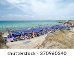 gallipoli  italy   august 4 ... | Shutterstock . vector #370960340