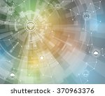 internet of things  wireless... | Shutterstock .eps vector #370963376