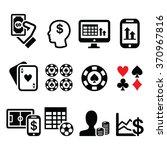 gambling  online betting ... | Shutterstock .eps vector #370967816