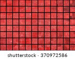 bright abstract mosaic red... | Shutterstock . vector #370972586