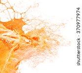 fresh orange juice splash. | Shutterstock . vector #370977974