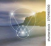 sacred geometry. mathematics ...   Shutterstock .eps vector #370980500