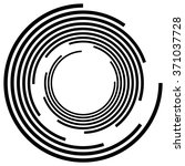 abstract spiral  swirl  twirl... | Shutterstock .eps vector #371037728