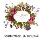 Valentine's Vector Card With...