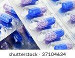 close up medical pills... | Shutterstock . vector #37104634