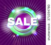 sale background. colorful ... | Shutterstock .eps vector #371054780
