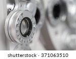 phoropter  ophthalmic testing... | Shutterstock . vector #371063510