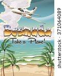 Bermuda Vacation Poster.