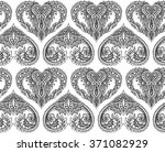 vector seamless pattern with... | Shutterstock .eps vector #371082929